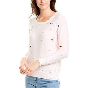 Chaser Glitter Star Sweatshirt Size Large